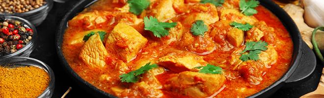 | Indische Chicken Gerichte